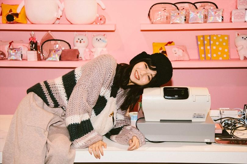 ガルグラ レポートVol.3 市川美織が着るピンクコーデ