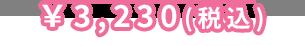 ¥3,230(税込)