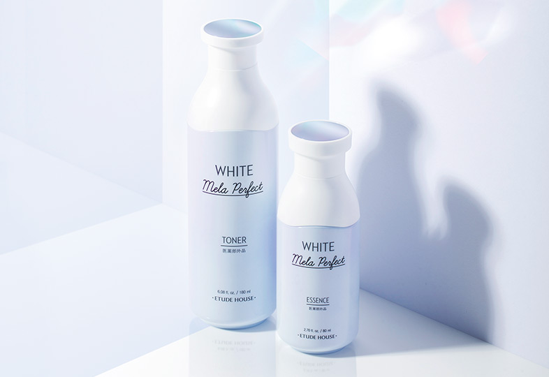 ホワイトメラパーフェクト トナー&セラムセット キービジュアル